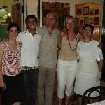 The wonderful staff at U Lantirnaru