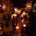 Lantern shop in the souk