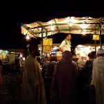 Night market Jma El Fna