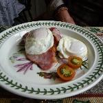Bacon, Eggs and Tattie Scones