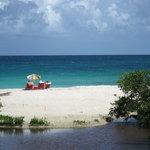 Lagoon behind Playa Chiva