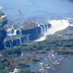 Caudal del río Iguazú en abril del 2005