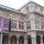 The Vienna opera house.  Fairly historic I understand.