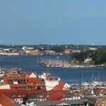 Stadthafen en Rostock.