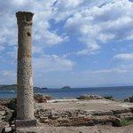L?antica città fenicia e poi romana di Nora.