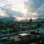 Palermo from the terrace
