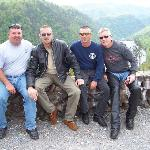 friends . at Deal Gap. Tail of the Dragon
