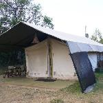 A typical tent.