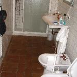 Bathrooms are spacious and fully equipped.