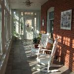 Verandah rocking chairs