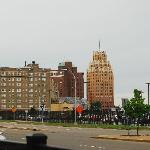 Niagara town view