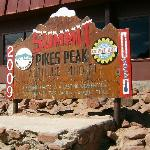 The summit sign