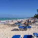 La plage, l'eau turquoise... Un rêve!!!