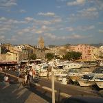cittadine di Saint Florent dove si trova l'albergo