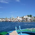 The old town, Marmaris by boat