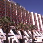 front of hotel