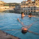 me in a pool