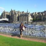 Intento de foto II, vista a Edimburgo, LINDOOO!!