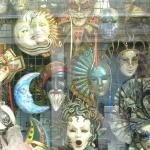 Pretty masks in venice