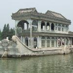 Stone Boat at Summer Palace