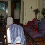 Living Room of Shining Dawn B&B