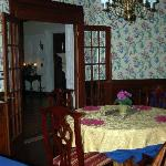 Dining Room at Shining Dawn B&B