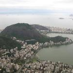 View of Copacabana and Ipanema from the Christ statue