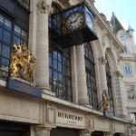 Burberry's store on Oxford St. in London