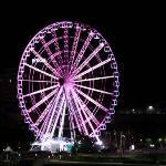 Wheel of Brisbane ภาพถ่าย