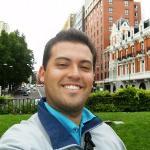 Yo en plaza España