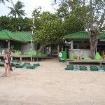 Beach Access and Fizz Bar