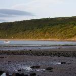 Cei Bach beach