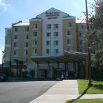 front view of hotel