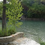 Guadalupe River - very low