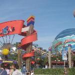 Entrance to Disney Village.