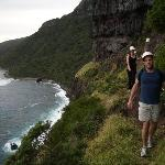 Cliff walk to Mt Gower