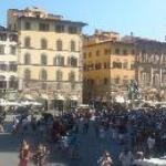 The main town square (Piazza della Signoria)