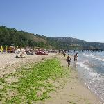 The beach in front of the Arabella Beach hotel, near Kaliakra hotel