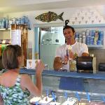 Paolo serves the best at Gelateria Il Porticciolo