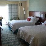 double bed room, oceanfront
