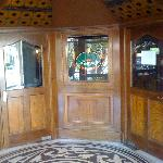 entrance to Pound and Penny pub