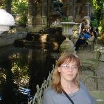 Fontana Marije di Mediči Luksemburški park Paris
