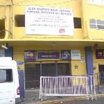 La Boca Stadium entrance.
