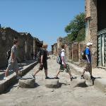 Scavi di Pompei ภาพถ่าย