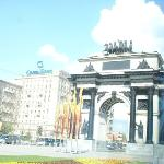 Victory Square. The Triumphal Arch