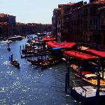 El Gran Canal de Venecia visto desde el puente Rialto.  ** El retoque de esta foto no ha sido pr