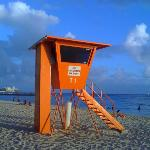 One of my favorite pictures!  Lifeguard stand at Waikiki