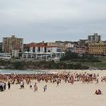 Triathalon at Bondi Beach, Sydney