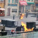 Extreme stunt show, Hollywood studios