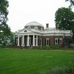 Monticello, Thomas Jefferson's home is a beautiful place.